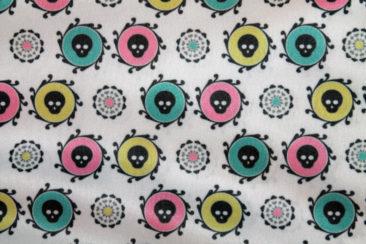 Candy Skulls Pattern Design