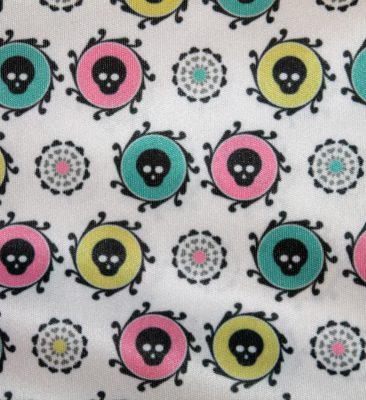 Candy Skulls Mønsterdesign