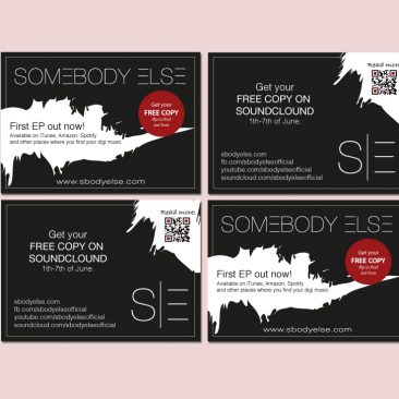 Flyer for Somebody Else