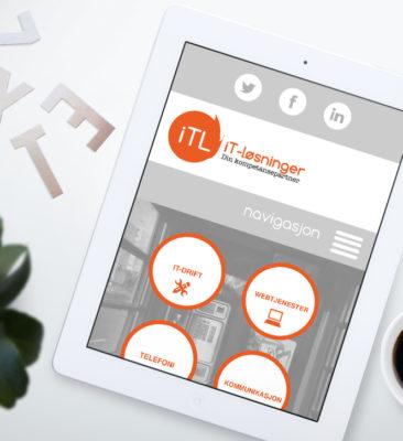 Webdesign for ITL