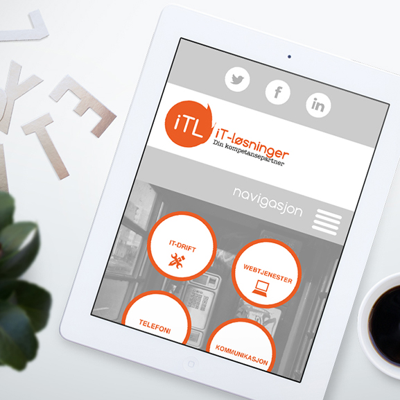 ITL Logo and Web Design