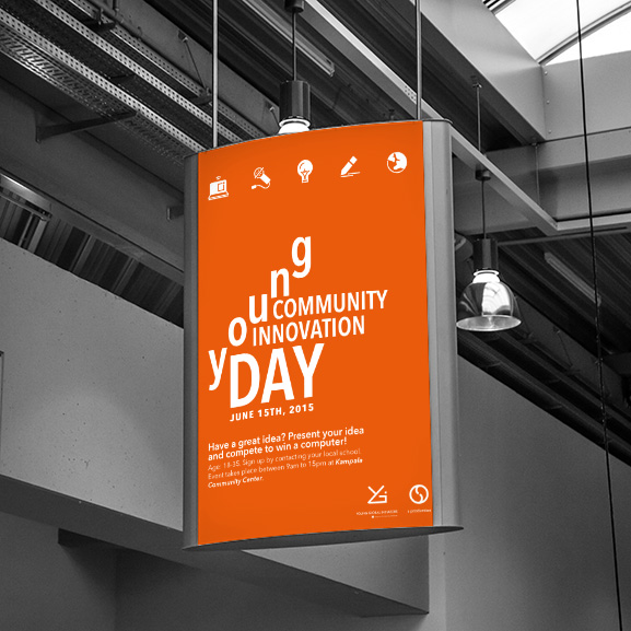 Young Community Innovation Day 2015 Poster Design